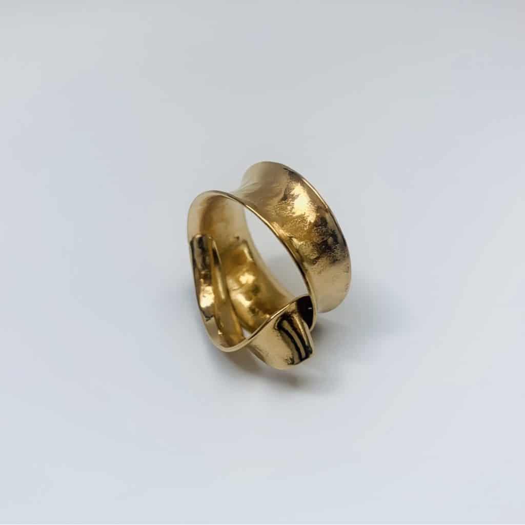 Ringe aufbereitet und neu vergoldet